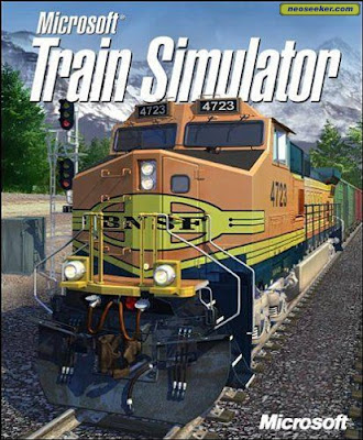 Microsoft Train Simulator Game