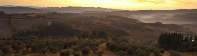 Castello del Nero, countryside, image via Castell del Nero website, edited by lb for linenandlavender.net: http://www.linenandlavender.net/2010/01/design-daily-hotel-feature-castello-del.html