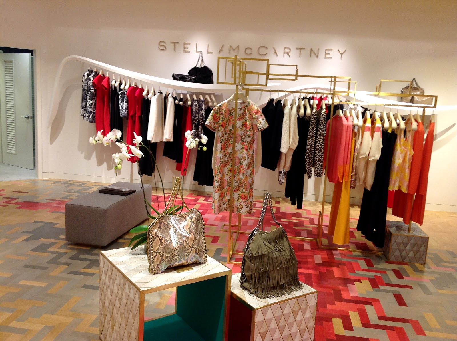 b48cf194e931 a special thank you to the team over at Saks in Boca Raton for your  hospitality and to Stella McCartney for allowing us to chat with her and  spend an ...