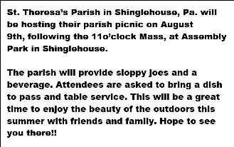 8-9 St Theresa's Parish Picnic
