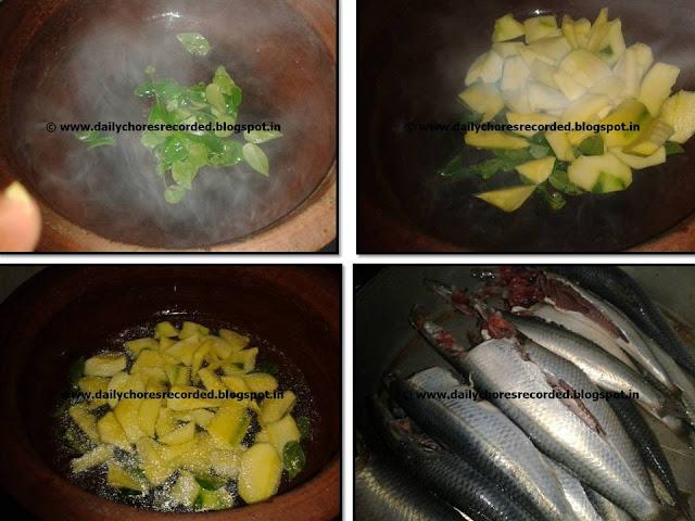 Sardine Curry- with mango
