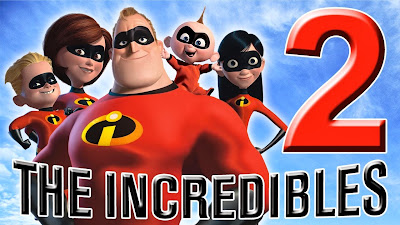 Disney and Pixar sequels for The Incredibles and Cars