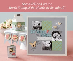 CTMH MARCH 2012 - Stamp of the Month