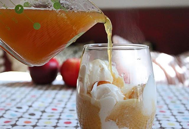 Classic Farmhouse: recipe | Apple Cider Floats