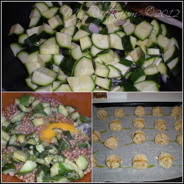 Polpette lenticchie e zucchine