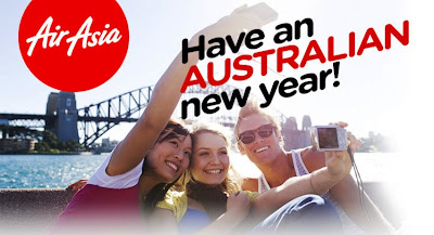 Promo AirAsia Tahun Baru ke Australia