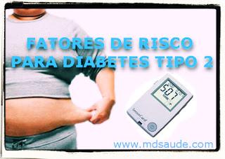 Fatores de risco para diabetes tipo 2