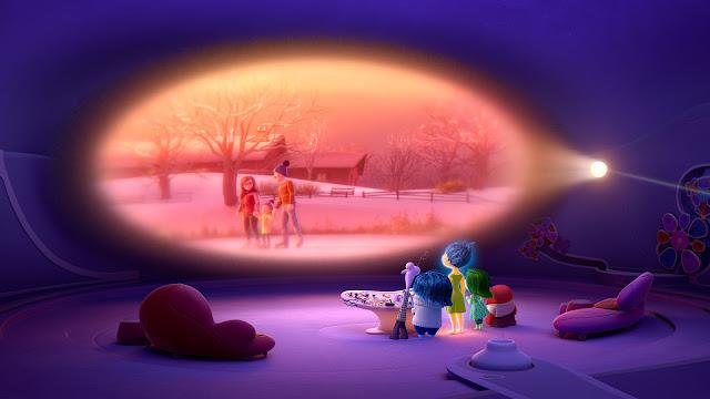 Cena do filme Divertida Mente, lançado pela Pixar