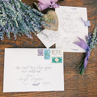 charlottesville wedding calligraphy