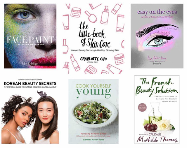 Face-Paint-by-Lisa-Eldridge-&-The-little-book-of-skincare-by-charlotte-cho-and-Easy-on-the-eye-by-Lisa-Potter-Dixon-and-Korean-beauty-secrets-and-Cook-yourself-young-and-The-French-beauty-solution-Review