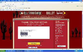 All Star Vote