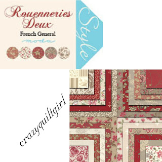 Moda ROUENNERIES DEUX Quilt Fabric by French General