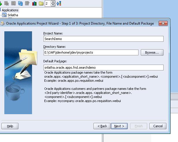 2. Create a New Application Module (AM)