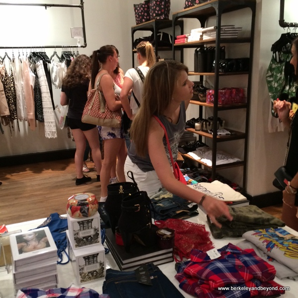interior of Kim Kardashian West's Dash shop in NYC