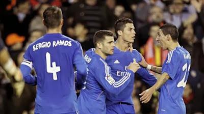 Xem lại đầy đủ trận Valencia vs Real Madrid