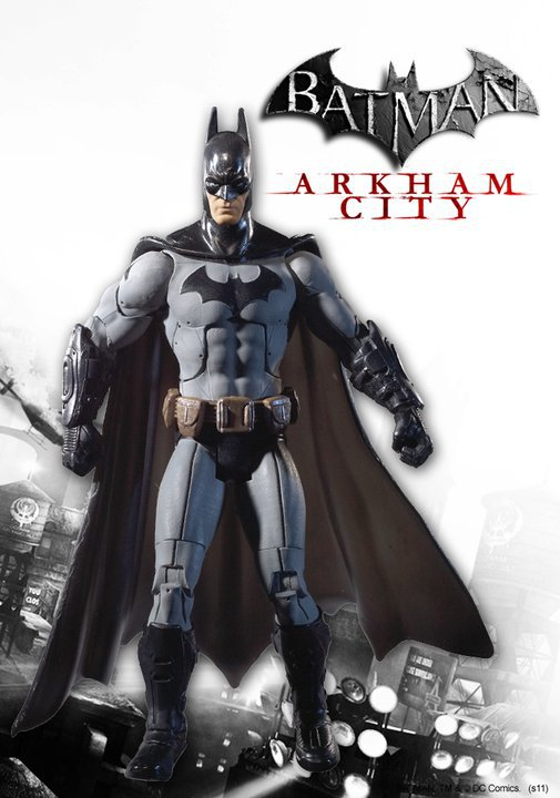 Comicpalooza Blog: Batman Arkham City Toys Revealed