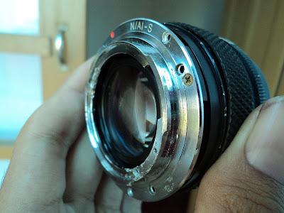 modifikasi lensa zuiko nikon