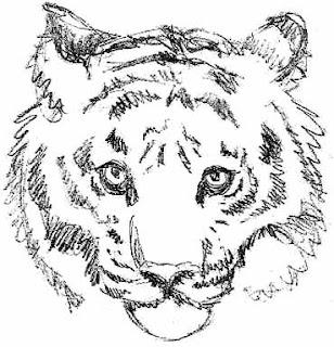 Desenhos de Tatuagens de Tigres