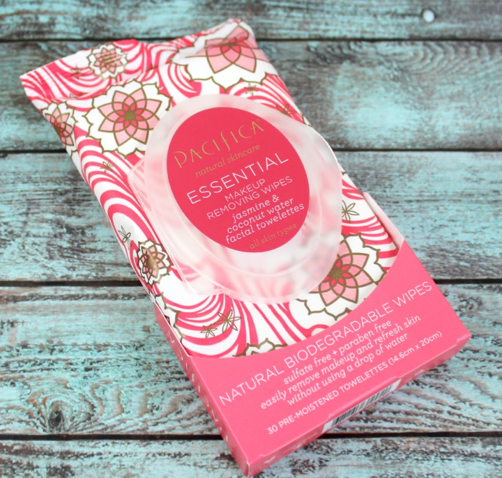 Pacifica Beauty Essential Makeup Removing Wipes review