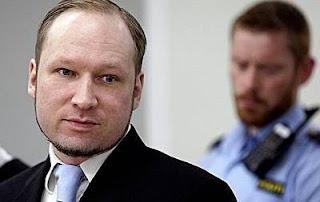 Anders Behring Breivik  © AFP