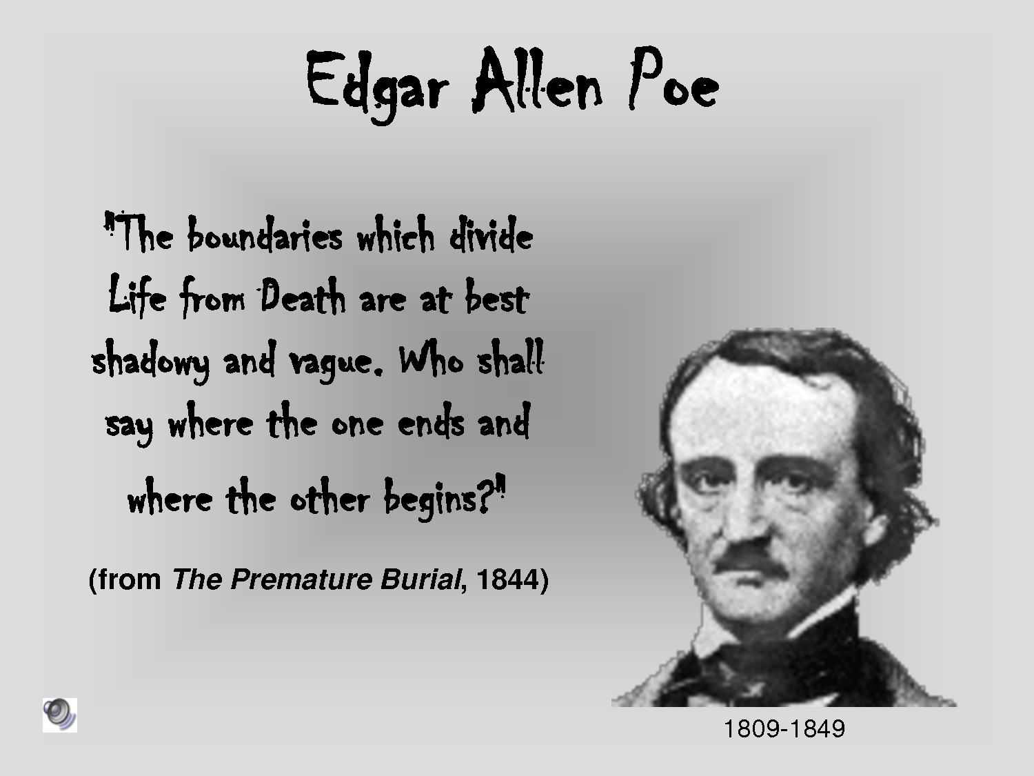 "edger allen poe essay American romanticism in edgar allan poe's ""ligeia"" by feross aboukhadijeh, 12th grade  the american romantic period was essentially a renaissance of american literature."