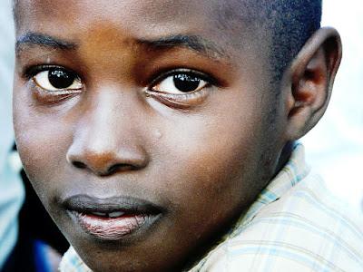 enfant d'Afrique centrale
