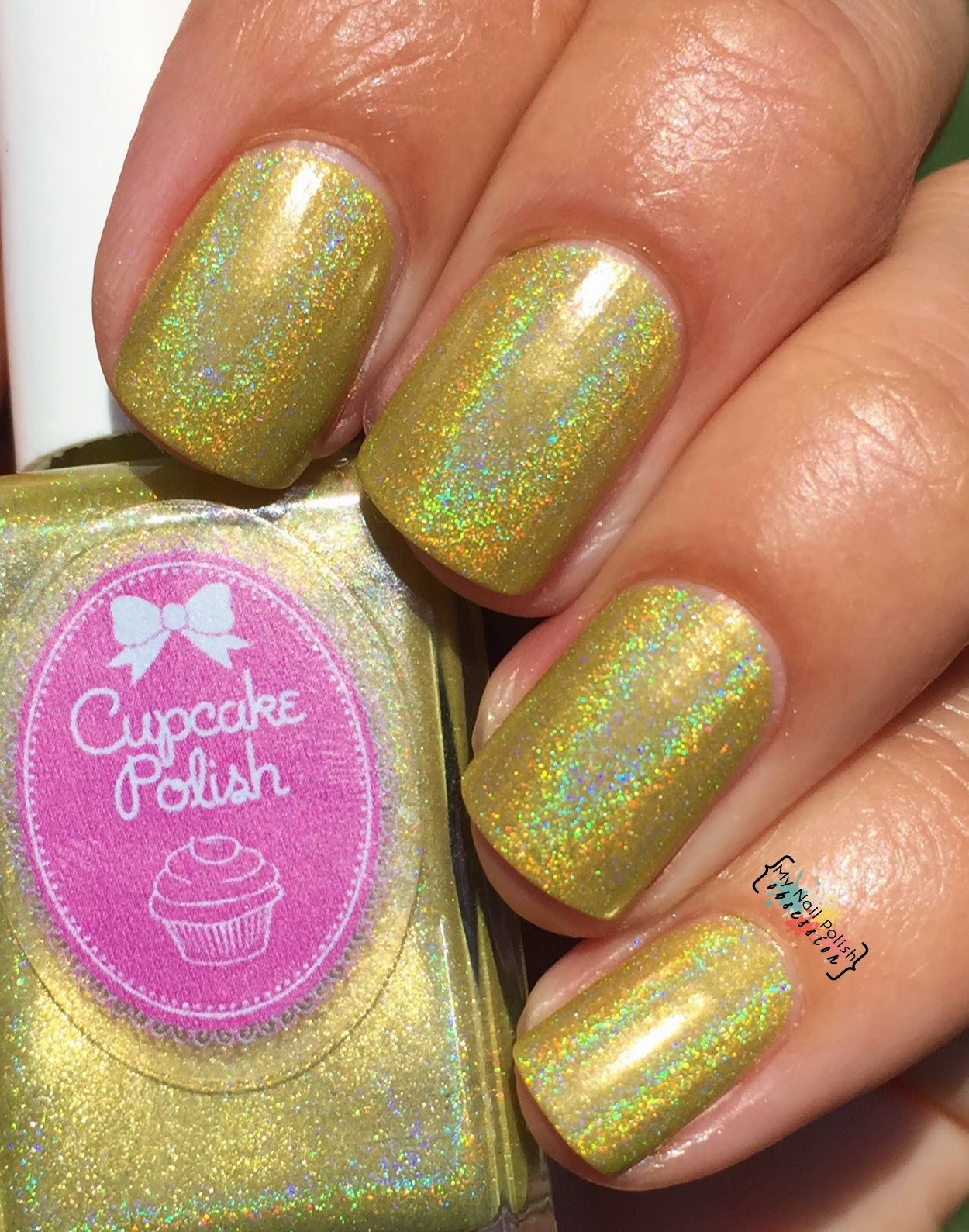 Cupcake Polish Daisy In Love
