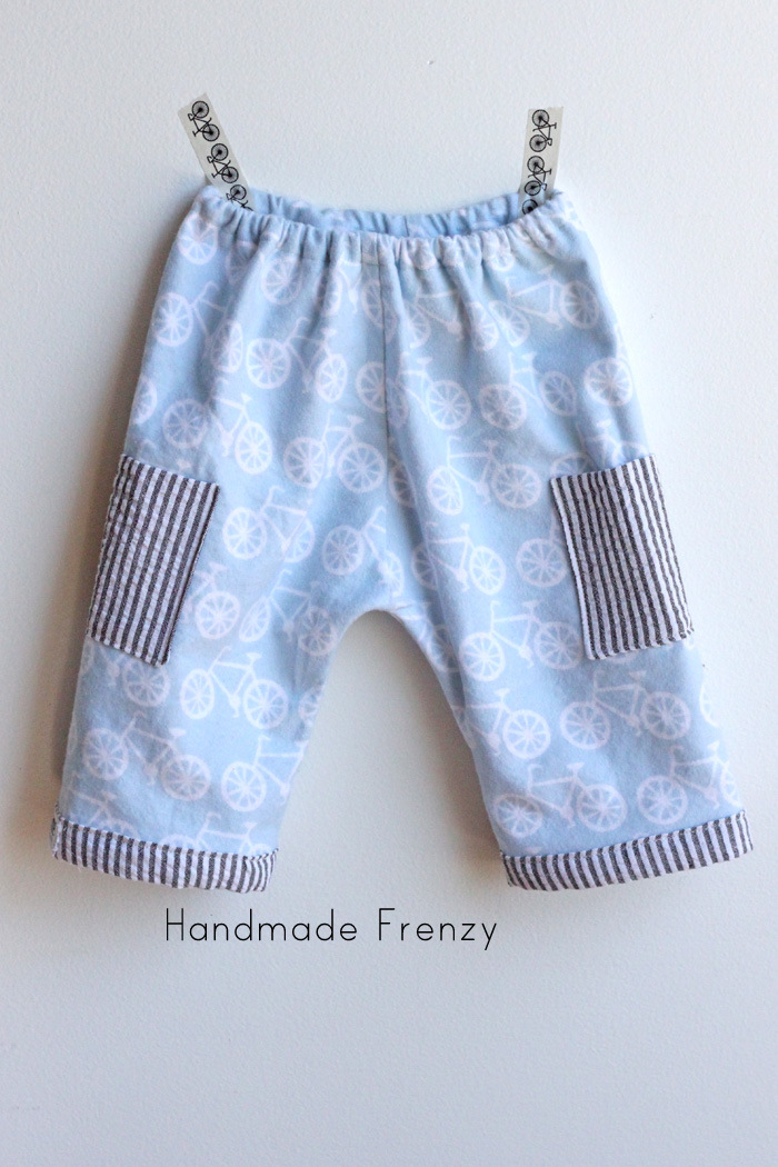 Rae's Basic Newborn Pants