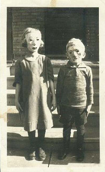 creepy vintage kids photos