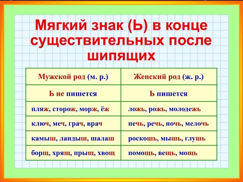 ь после шипящих 2011_01_22_16_18_26