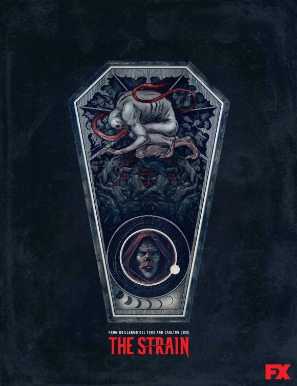 Toronto film net quot the strain quot hideous poster collection