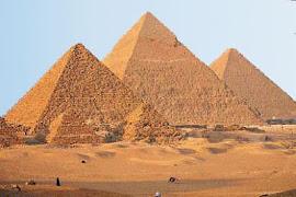 PIRAMIDES EN EGIPTO - INTERACTIVO