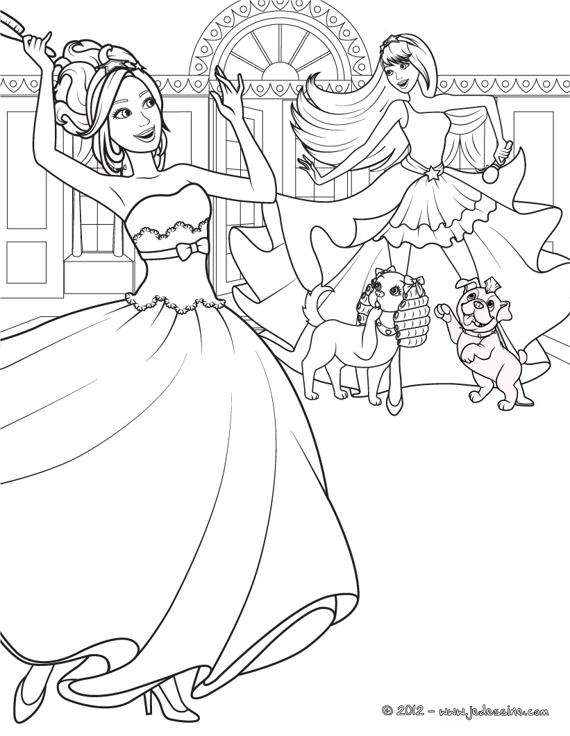 Coloring Pages Barbie And The Secret Door : Barbie and the secret door coloring pages imgkid