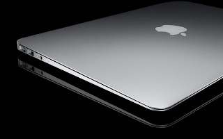 Silver Shiny Apple Mac HD Wallpaper