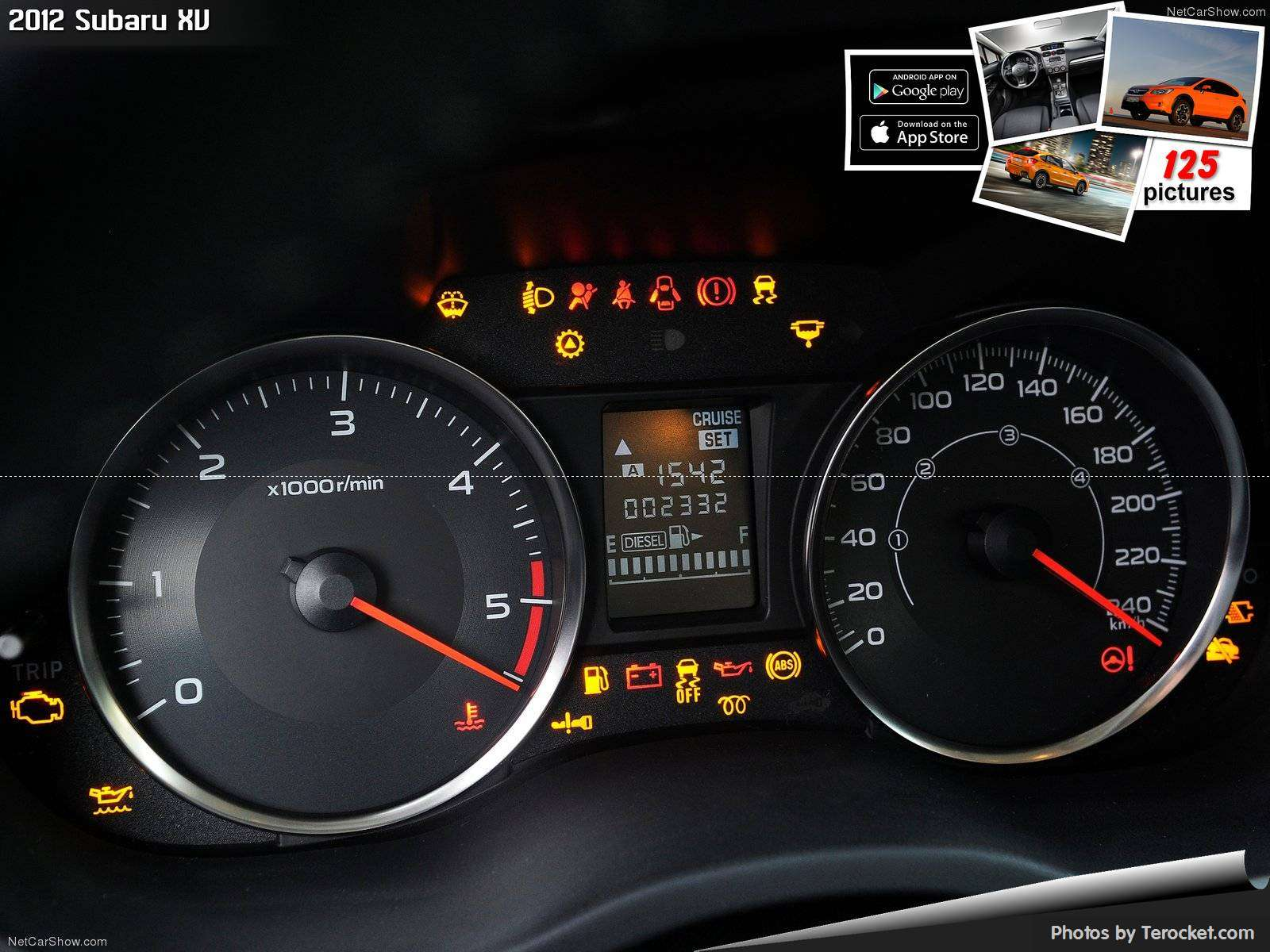 Hình ảnh xe ô tô Subaru XV 2012 & nội ngoại thất