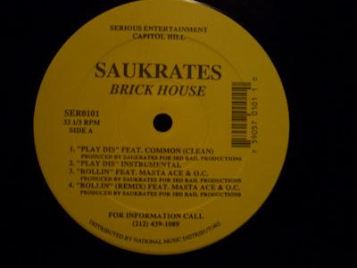 Saukrates – Brick House EP (Vinyl) (1996) (VBR)