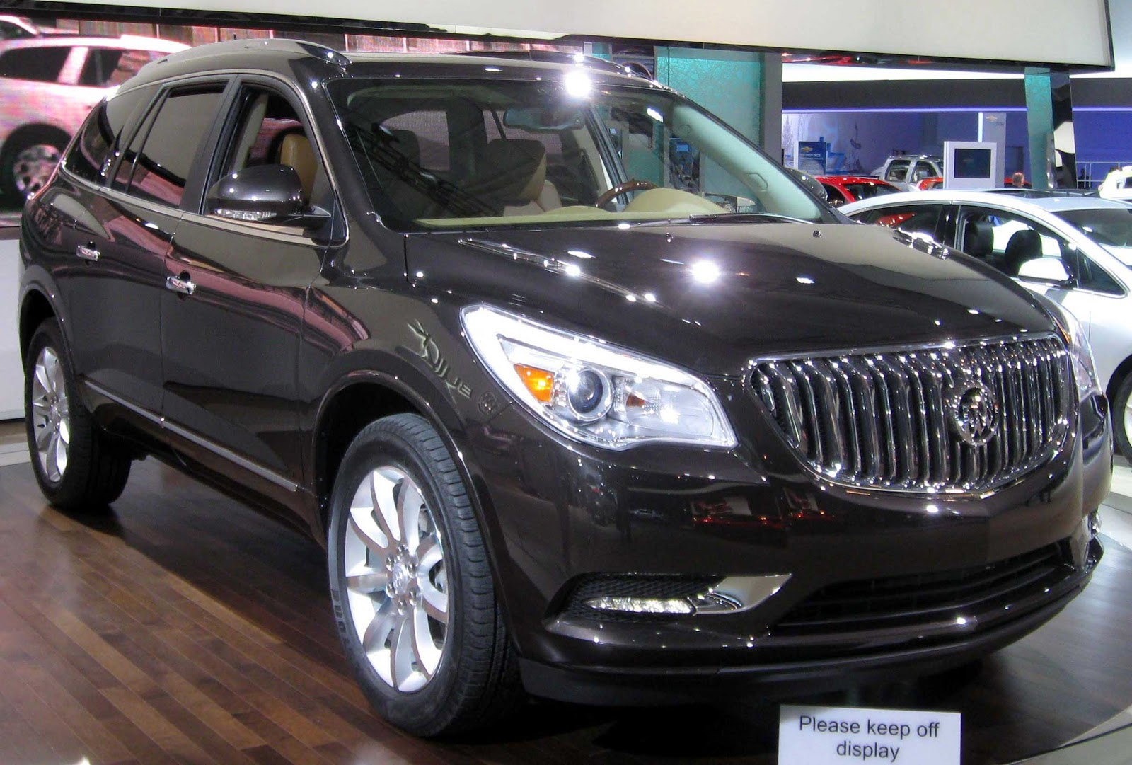 Buick SUV With Rd Row Seating
