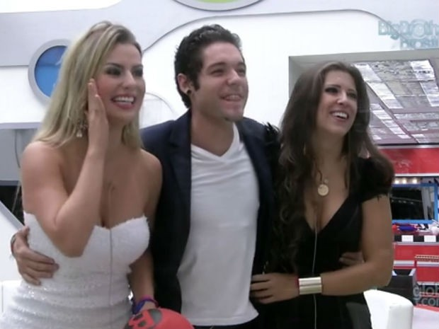 Fernanda disputou final com Nasser e Andressa