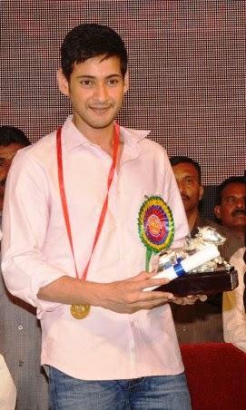 Prince Mahesh Babu Nandi Filmfare Awards Nominations
