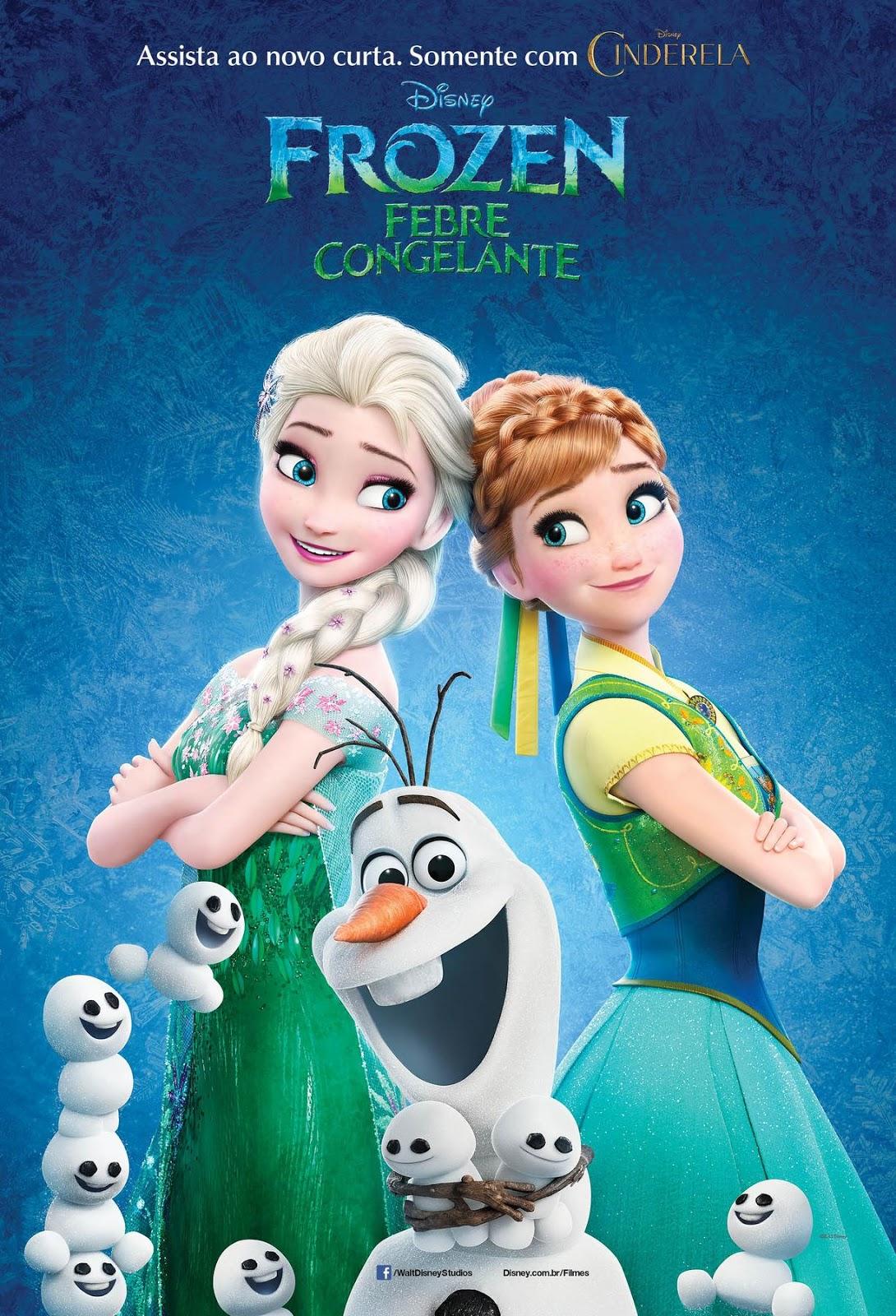 Frozen: Febre Congelante – Dublado (2015)
