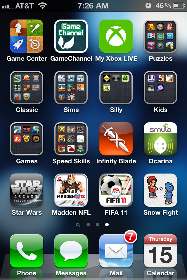how to clean up iphone home screen