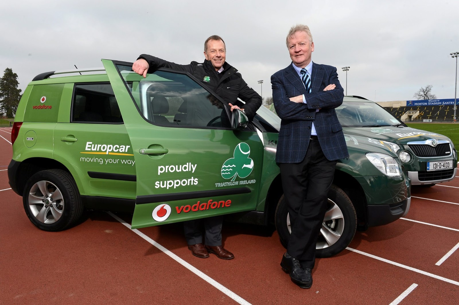 Irish Car Travel Magazine Europcar Partner With Triathlon Ireland