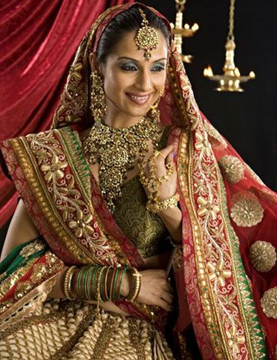 Indian Bride Bridal Jewellery