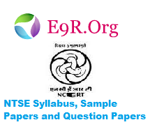NTSE Syllabus, Sample Papers and Question Papers