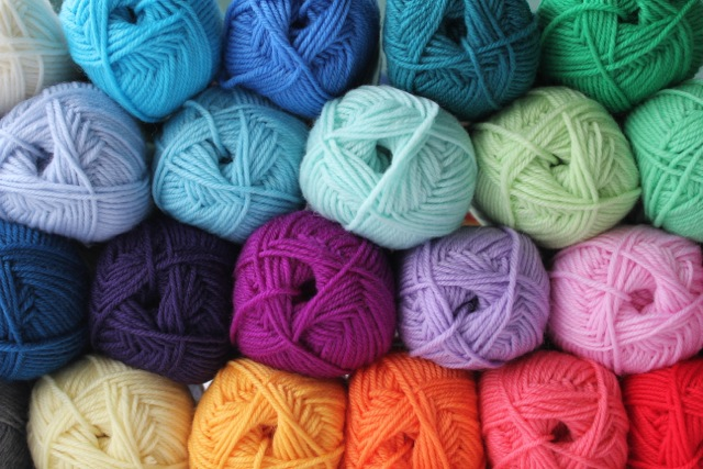 Crocheting Yarn Shop : ... explosion nicely. Or maybe a gorgeous granny striped crochet blanket