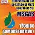 Apostila Concurso MSGÁS 2015 - Técnico Administrativo I