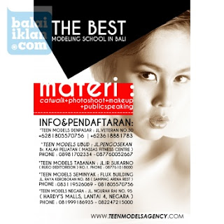 Kursus Model Terbaik Di Ubud Bali