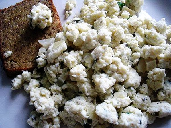 Cottage Cheese Scrambled Eggs