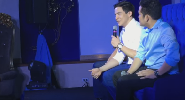 Alden Richards humbly answers all questions thrown at him