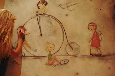 acylique sur toile 2012 (la course de la vie)